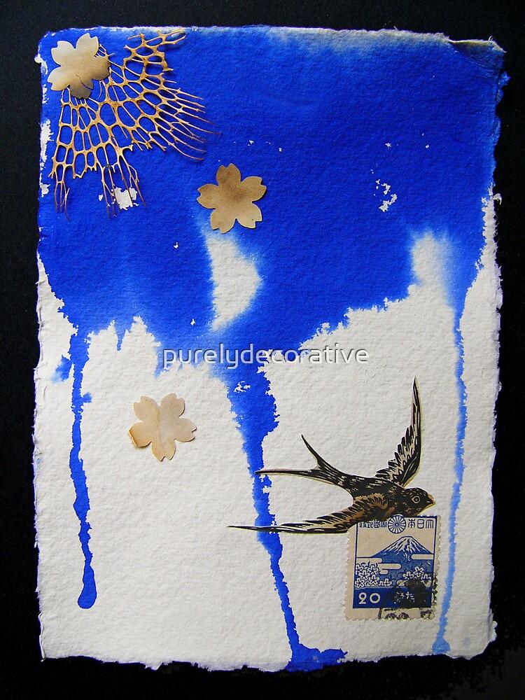 Descending blue by purelydecorative