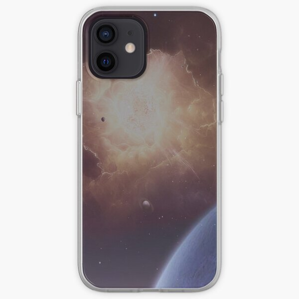 Star formation iPhone Soft Case