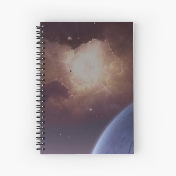 Star formation Spiral Notebook