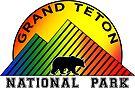 GRAND TETON NATIONAL PARK WYOMING MOUNTAINS BEAR by MyHandmadeSigns