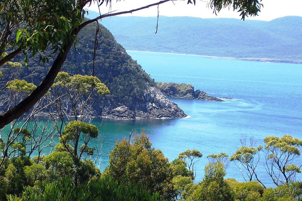 Crystal waters of Bruny Island by LynOrr