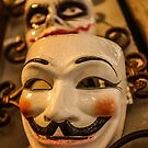 The Guy Fawkes Mask by David Petranker