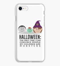 My Children Are Monsters Halloween Design iPhone Case/Skin