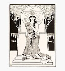 The Queen of Sabbath; ,by Ephraim Moses Lilien (1900) Photographic Print