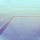 Horizontal flight (Blue edition)  by secretofpegasus