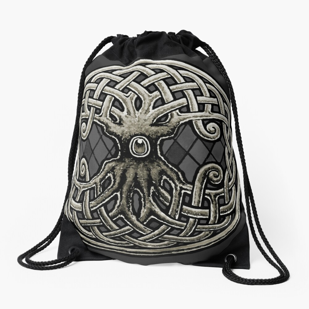 Yggdrasil Celtic Viking Árbol de la vida mundial Mochila saco