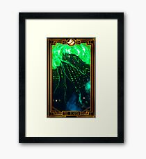Ghostbusters Tarot - The Tower Framed Print