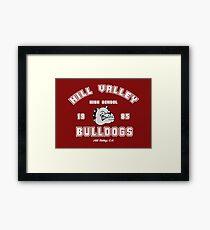 Hill Valley High School Framed Print