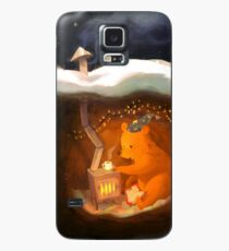 Snowy Rooftops Case/Skin for Samsung Galaxy