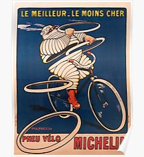 Vintage poster - Tire advertisement Poster