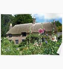 Thomas Hardy`s Cottage Poster
