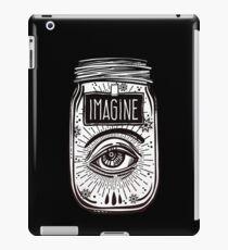 """Imagine"" Wish Jar iPad Case/Skin"