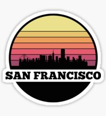 San Francisco Skyline Sticker
