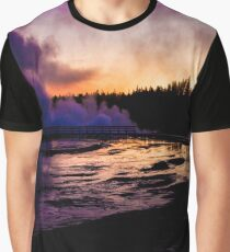 Yellowstone at sunrise - Veleda Thorsson Photography Graphic T-Shirt
