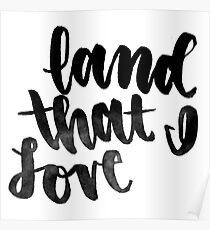 Land That I love Poster