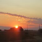 Sun Rise at Fosston Sask, Canada by MaeBelle