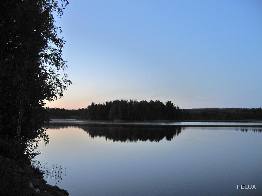 Lake at Night - Värmland by HELUA
