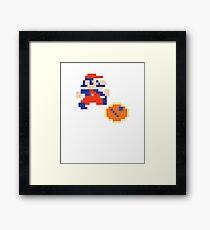 Jumpman (aka Mario) Donkey Kong Classic Arcade Framed Print