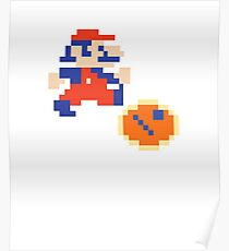 Jumpman (aka Mario) Donkey Kong Classic Arcade Poster