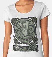 Vintage Classic Pinup Mermaid Women's Premium T-Shirt