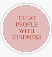 Treat People With Kindness Harry Styles Sticker