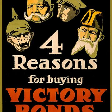 Vintage poster - Victory Bonds by mosfunky