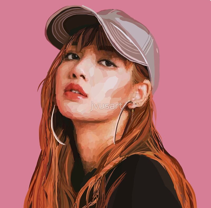 Quot Blackpink Lisa Quot Stickers By Jvusart Redbubble