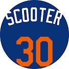 """Michael Conforto """"Scooter"""" by fallouthartley"""
