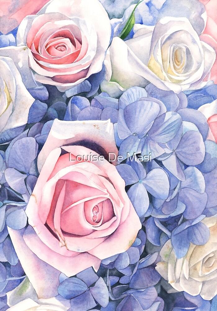 Wedding Bouquet 2 by Louise De Masi