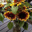 Sacramento Sunflowers by Barbara Wyeth