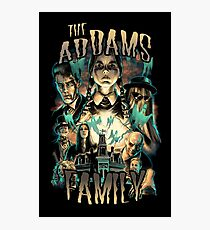 the Addams family Photographic Print