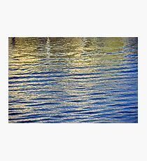 Daylight Water Abstract 10 Photographic Print