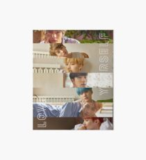 BTS LOVE YOURSELF HER L VERSION Art Board