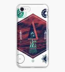 It fell from the stars, It rose from the sea iPhone Case/Skin