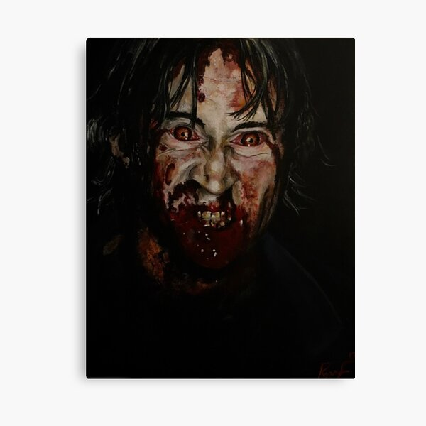 Infected! Canvas Print
