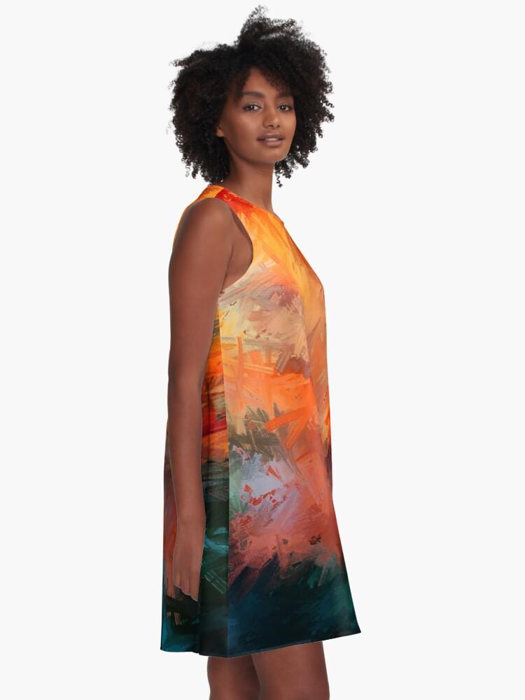 Alternate view of Autumn A-Line Dress
