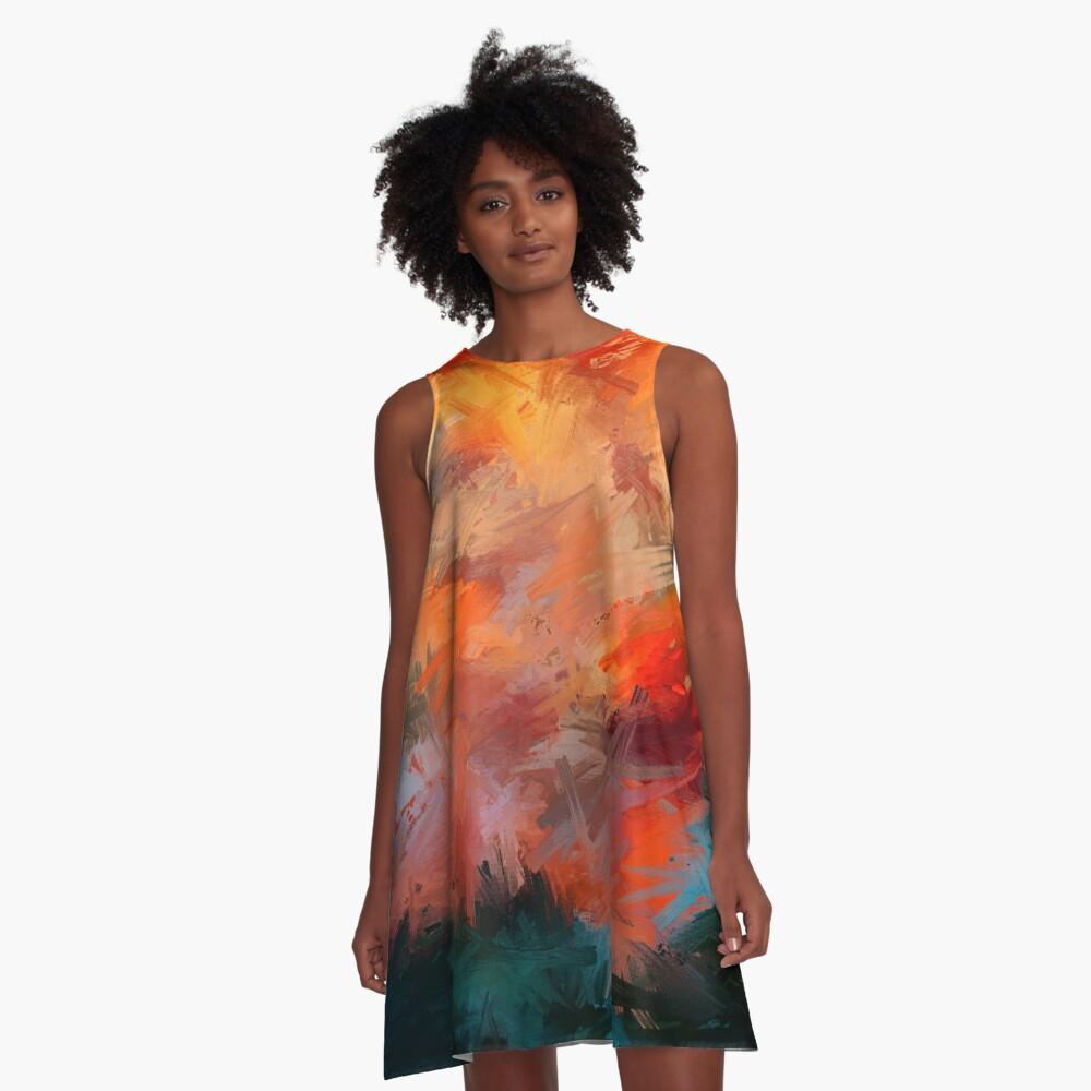 Autumn A-Line Dress