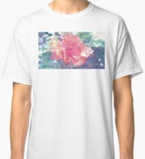 Oil Paint Pink Flower Classic T-Shirt