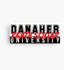 DANAHER DEATH SQUAD UNIVERSITY Canvas Print