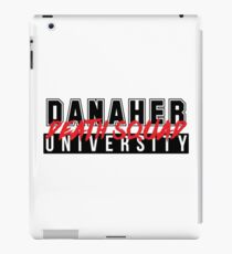 DANAHER DEATH SQUAD UNIVERSITY iPad Case/Skin