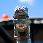 Hood Ornament - Bull Dog Mack #2 by Deborah McGrath