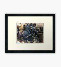 Architecture of Destruction Framed Print