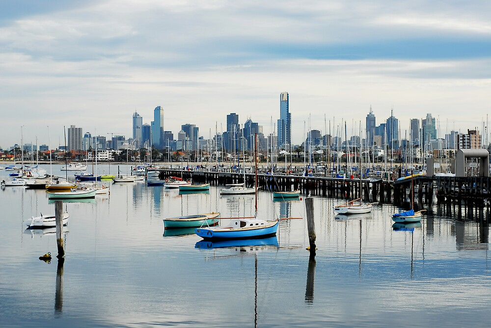 My Melbourne by Sue Wickham