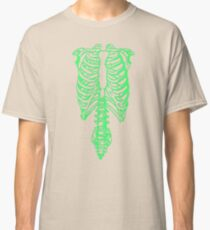 Tap The Spinal Skeleton Classic T-Shirt