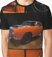 1969 Plymouth Road Runner A12 multi image Graphic T-Shirt