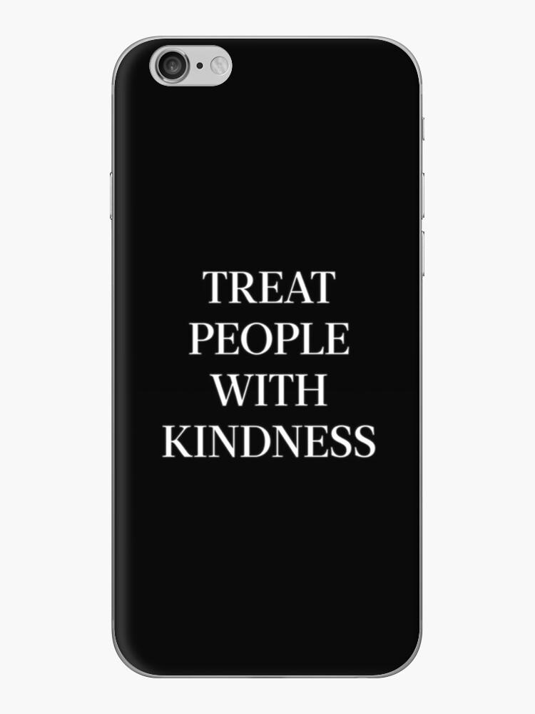 Behandle Menschen mit Freundlichkeit (Weiß) von meanicolexx