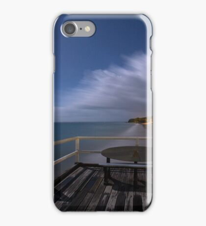 Down at the beach... iPhone Case/Skin