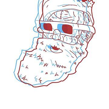 3D Santa by davelosso