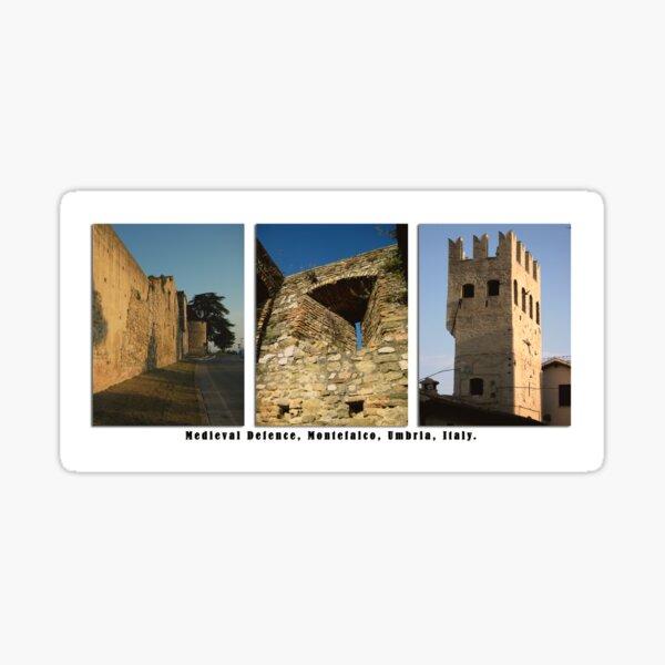Montefalco Series #06 – Back when stone was defense against arrows. Sticker