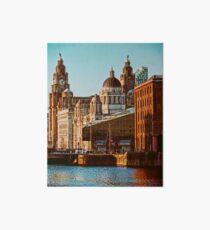 Albert Dock Liverpool Art Board Print